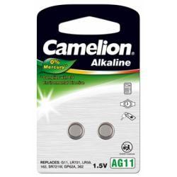 Camelion knoflíkové články AG11 2ks balení originál (doprava zdarma u objednávek nad 1000 Kč!)