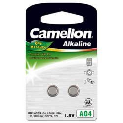 Camelion knoflíkové články AG4 2ks balení originál (doprava zdarma u objednávek nad 1000 Kč!)