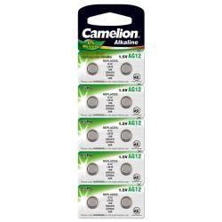 Camelion knoflíkový článek AG12 10ks balení originál (doprava zdarma u objednávek nad 1000 Kč!)