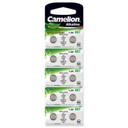 Camelion knoflíkový článek AG7 10ks balení originál (doprava zdarma u objednávek nad 1000 Kč!)