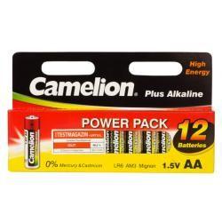 Camelion Plus alkalická tužková LR6 (3 x 12ks balení) originál (doprava zdarma u objednávek nad 1000 Kč!)