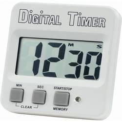 Digitální časovač Basetech s velkým displejem, bílá (doprava zdarma u objednávek nad 1000 Kč!)