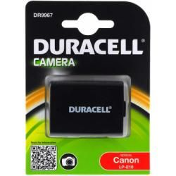 Duracell baterie pro Canon EOS 1100D originál (doprava zdarma u objednávek nad 1000 Kč!)