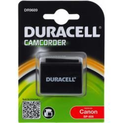 Duracell baterie pro Canon Legria HF G10 (BP-808) originál (doprava zdarma u objednávek nad 1000 Kč!)