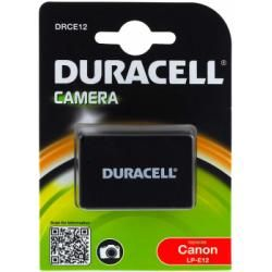 Duracell baterie pro Canon Typ LP-E12 originál (doprava zdarma u objednávek nad 1000 Kč!)