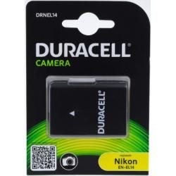 Duracell baterie pro Nikon EN-EL14 1100mAh originál (doprava zdarma!)