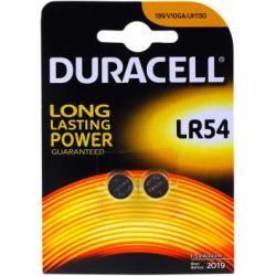 Duracell knoflíkové články Typ LR54 2ks balení originál (doprava zdarma u objednávek nad 1000 Kč!)