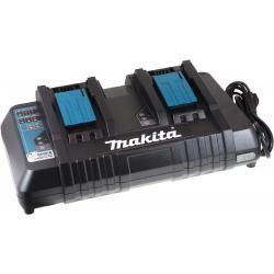 Dvojitá nabíječka Makita Typ DC18RD pro Blockaku 9,6V-14,4V NiMH / 14,4V-18V Li-Ion aku originál (doprava zdarma!)