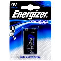 Energizer 10 Jahres baterie pro detektor kouře Ultimate Lithium 6LR61 originál (doprava zdarma u objednávek nad 1000 Kč!)