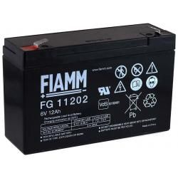 FIAMM náhradní baterie pro dětská vozítka, quad 6V 12Ah (nahrazuje i 10Ah) originál (doprava zdarma u objednávek nad 1000 Kč!)