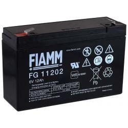 FIAMM náhradní baterie pro skútr, invalidní vozík 6V 12Ah (nahrazuje i 10Ah) originál (doprava zdarma u objednávek nad 1000 Kč!)