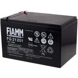 FIAMM náhradní baterie pro solární systémy, nouzové osvětlení, zabezpečovací systémy 12V 12Ah originál (doprava zdarma!)