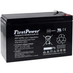 FirstPower náhradní aku baterie pro UPS APC Back-UPS CS 500 7Ah 12V originál (doprava zdarma u objednávek nad 1000 Kč!)