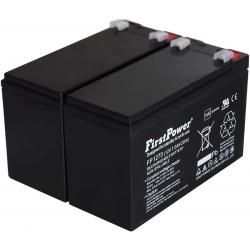 FirstPower náhradní baterie pro UPS APC Smart-UPS SUA750I 7Ah 12V originál (doprava zdarma u objedná