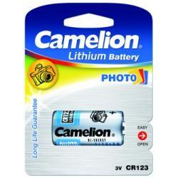 Foto baterie Camelion CR123A 1ks balení originál (doprava zdarma u objednávek nad 1000 Kč!)