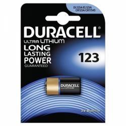Foto baterie Duracell Ultra M3 CR123 1ks balení originál (doprava zdarma u objednávek nad 1000 Kč!)