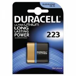 Foto baterie Duracell Ultra M3 Typ DL223 1ks balení originál (doprava zdarma u objednávek nad 1000 Kč!)