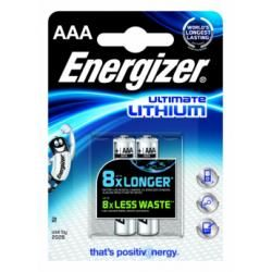 Lithium baterie Energizer AAA 2ks balení originál (doprava zdarma u objednávek nad 1000 Kč!)