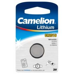 litiový knoflíkový článek Camelion CR2016 1ks balení originál (doprava zdarma u objednávek nad 1000 Kč!)