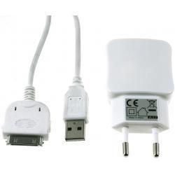 nabíjecí adaptér 2x USB 2,1A+30Pin USB Sync-& kabel pro iPod touch 3.-4. Gen. (doprava zdarma u obje