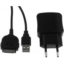 nabíjecí adaptér s 2x USB 2,1A vč. 30Pin USB Sync-& kabel pro iPod 3./4. Gen. (doprava zdarma u objednávek nad 1000 Kč!)