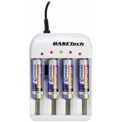 Nabíječka akumulátorů Basetech BTL-4.1, AAA, AA, malé mono, 18650 (doprava zdarma u objednávek nad 1000 Kč!)