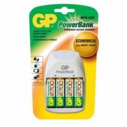 nabíječka baterií GP Nite Lite + 4xGP 2700 mAh (doprava zdarma u objednávek nad 1000 Kč!)