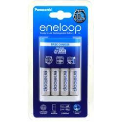 nabíječka Panasonic eneloop BQ-CC51 vč. 4x aku Panasonic eneloop AA 1900mAh originál (doprava zdarma u objednávek nad 1000 Kč!)