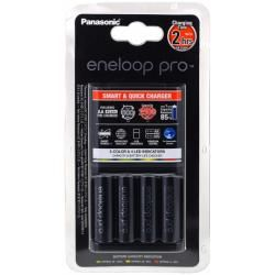 nabíječka Panasonic eneloop BQ-CC55E vč. 4 ks AA eneloop Pro 2500mAh originál (doprava zdarma!)