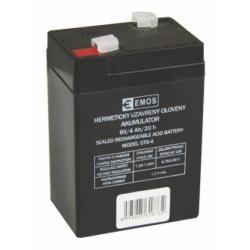 Olověná baterie GT6-4 6V 4Ah (doprava zdarma u objednávek nad 1000 Kč!)