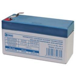 Olověná baterie SLA 12V/1,3Ah (doprava zdarma u objednávek nad 1000 Kč!)