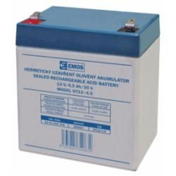 Olověná baterie SLA 12V/4,5Ah (doprava zdarma u objednávek nad 1000 Kč!)