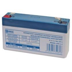 Olověná baterie SLA 6V/1,3Ah (doprava zdarma u objednávek nad 1000 Kč!)