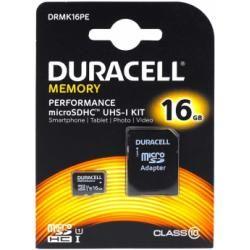 paměťová karta Duracell microSDHC 16GB UHS-I s adaptérem (doprava zdarma u objednávek nad 1000 Kč!)