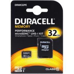 paměťová karta Duracell microSDHC 32GB UHS-I s adaptérem (doprava zdarma u objednávek nad 1000 Kč!)
