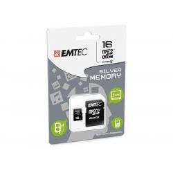 Paměťová karta EMTEC microSDHC 16GB blistr Class 4 (doprava zdarma u objednávek nad 1000 Kč!)