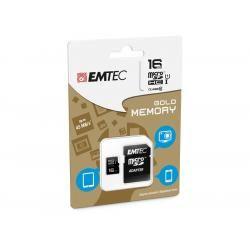 Paměťová karta EMTEC microSDHC 16GB blistr Class 10 (doprava zdarma u objednávek nad 1000 Kč!)