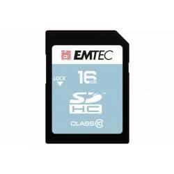 Paměťová karta EMTEC SDHC 16GB blistr Class 10 (doprava zdarma u objednávek nad 1000 Kč!)