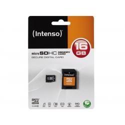 Paměťová karta Intenso microSDHC 16GB blistr Class 4 (doprava zdarma u objednávek nad 1000 Kč!)