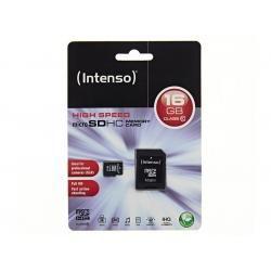 Paměťová karta Intenso microSDHC 16GB blistr Class 10 (doprava zdarma u objednávek nad 1000 Kč!)