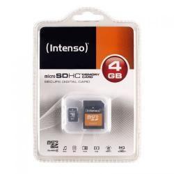 paměťová karta Intenso microSDHC 4GB blistr Class 4 (doprava zdarma u objednávek nad 1000 Kč!)