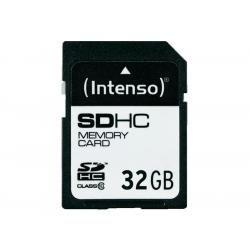 Paměťová karta Intenso SDHC 32GB class 10 blistr (doprava zdarma u objednávek nad 1000 Kč!)