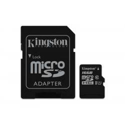 paměťová karta Kingston microSDHC 16GB blistr Class 10 (doprava zdarma u objednávek nad 1000 Kč!)