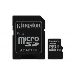 paměťová karta Kingston microSDHC 32GB blistr Class 10 (doprava zdarma u objednávek nad 1000 Kč!)