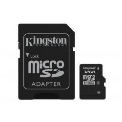 paměťová karta Kingston microSDHC 32GB class 4 blistr (doprava zdarma u objednávek nad 1000 Kč!)
