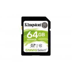 paměťová karta Kingston SDXC 64GB blistr UHS-I U1 Class 10 (doprava zdarma u objednávek nad 1000 Kč!)