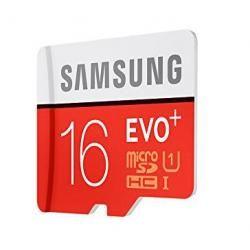 paměťová karta Samsung microSDHC 16GB EVO Plus Class 10 UHS-I + adaptér (doprava zdarma u objednávek nad 1000 Kč!)