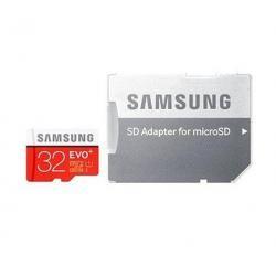 paměťová karta Samsung microSDHC 32GB EVO Plus Class 10 UHS-I + adaptér (doprava zdarma u objednávek nad 1000 Kč!)