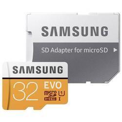 paměťová karta Samsung microSDHC EVO 32GB UHS-I vč.adapteru Class 10 (doprava zdarma u objednávek nad 1000 Kč!)