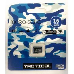 paměťová karta Tactical microSDHC 16GB Class 10 (doprava zdarma u objednávek nad 1000 Kč!)